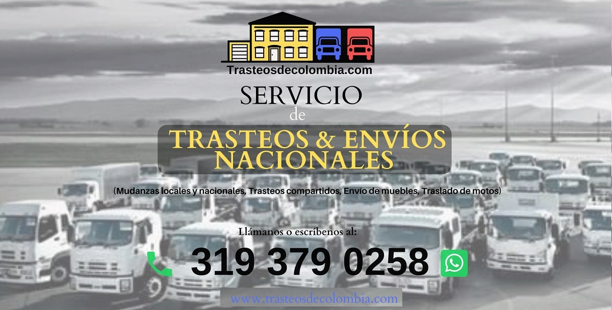 servicios de trasteos y envios nacionales